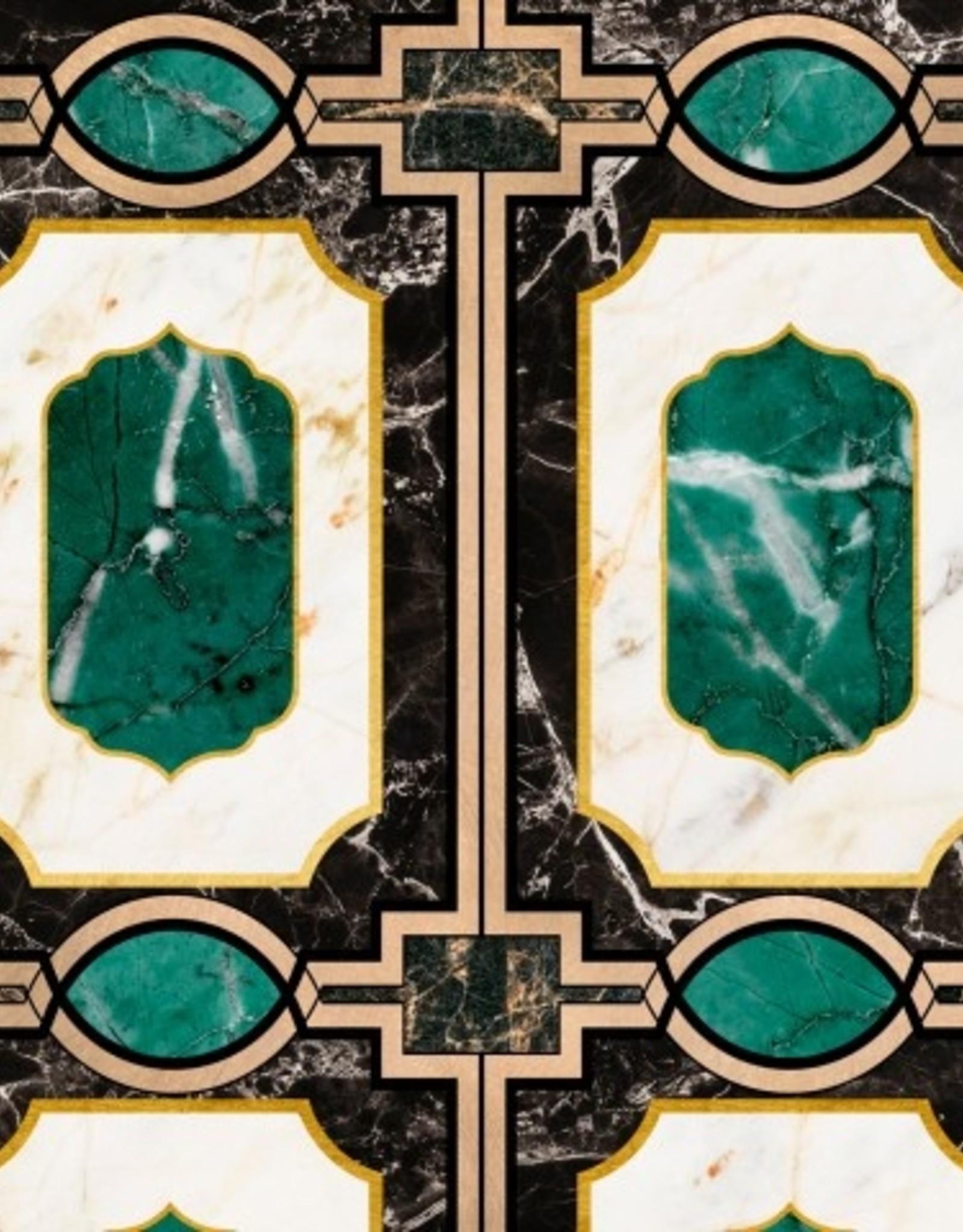 Mind the Gap Behang Waldorf Emerald - 156 x 300 cm