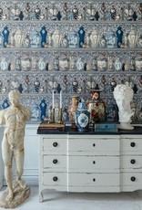 Mind the Gap Behang Ceramic Wonders Indigo - 156 x 300 cm