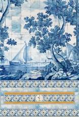 Mind the Gap Behang Azure Mural - 156 x 300 cm