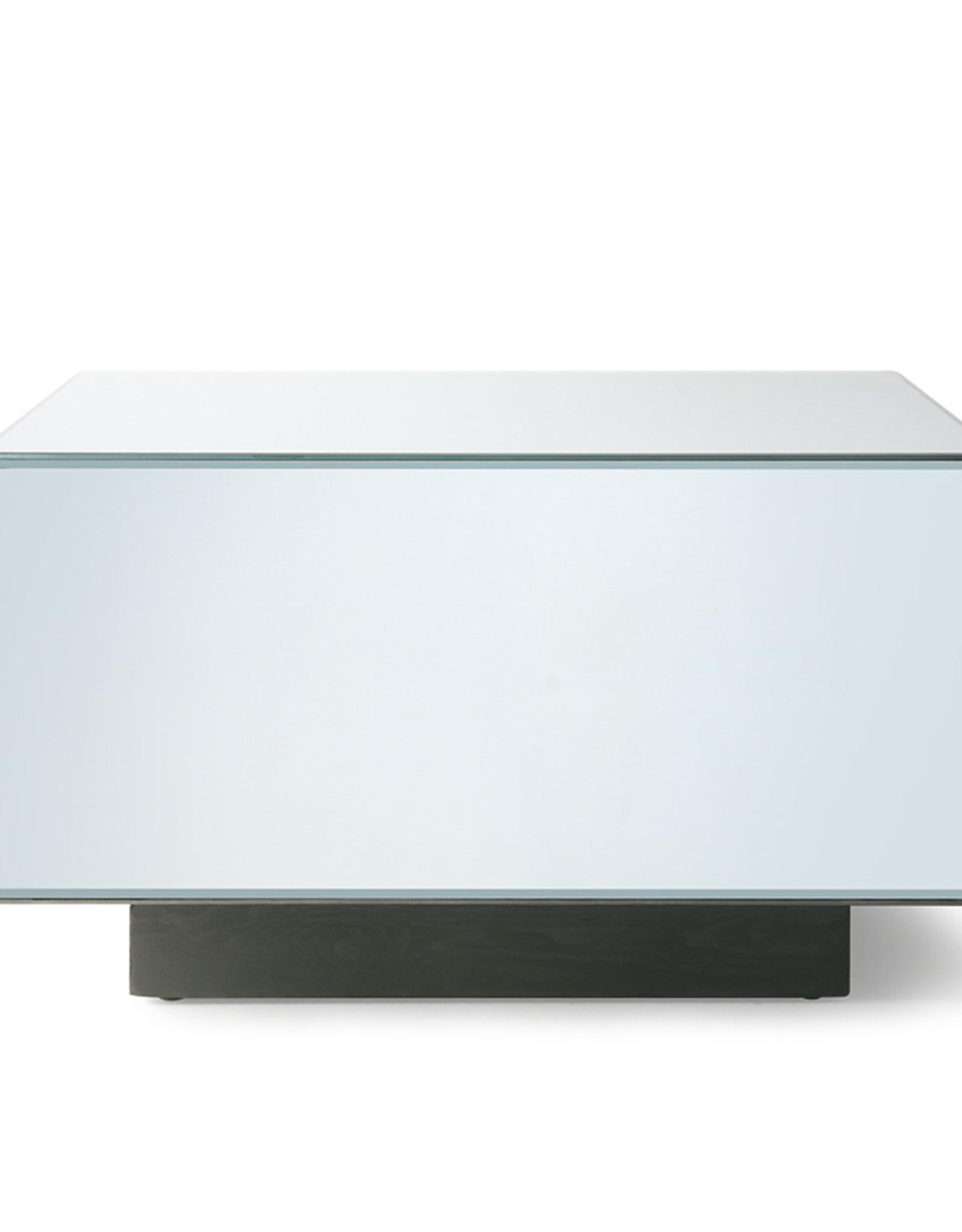 HK Living Mirror Block Table -  L