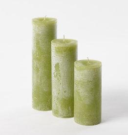 DekoCandle Stompkaars Ø 7 x 10 cm - Apple Green