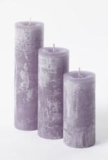 DekoCandle Stompkaars Ø 7 x 15 cm - Lavendel