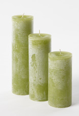 DekoCandle Stompkaars Ø 7 x 15 cm - Apple Green