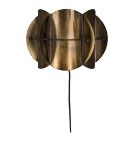 Dutchbone Wandlamp Corridor Antique Brass