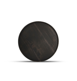 Serveerplank Dark Wood Ø 35 cm