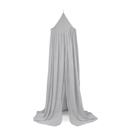 Jollein Klamboe/bedgordijn Vintage 245 cm - Soft Grey