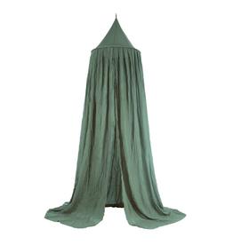 Jollein Klamboe/bedgordijn Vintage 245 cm - Ash Green