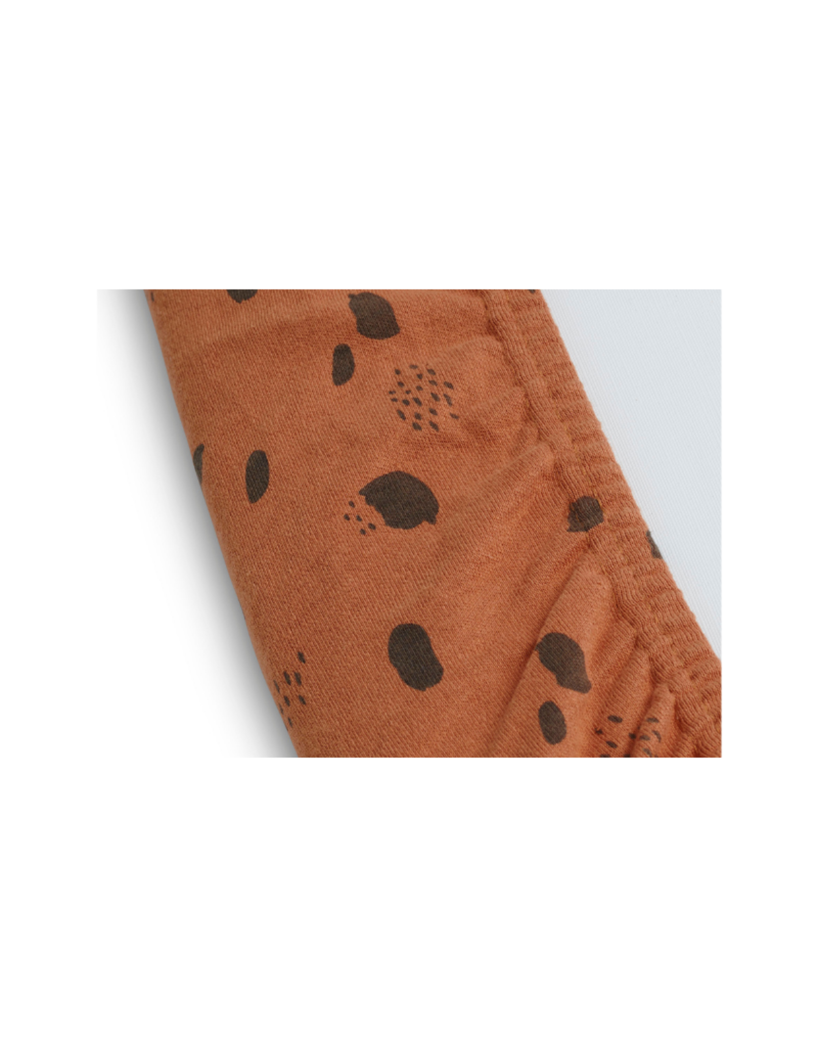 Jollein Ververs/aankleedkussenhoek Jersey 50 x 70 cm - Spot Caramel