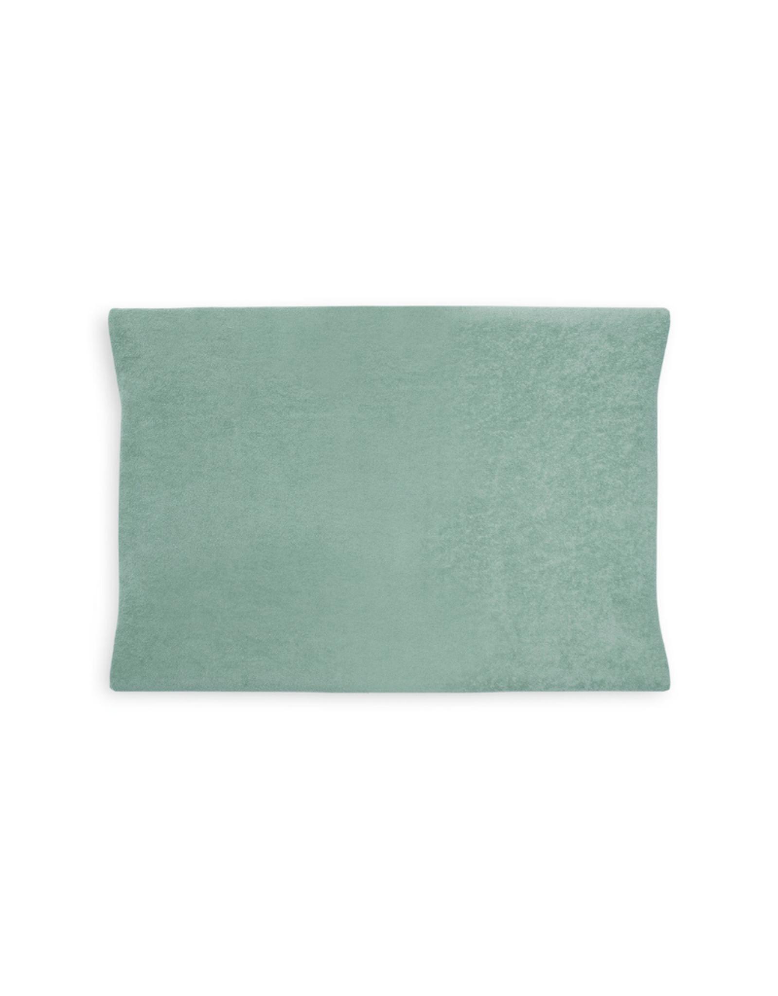 Jollein Ververs/aankleedkussenhoes Badstof 50 x 70 cm - Ash Green