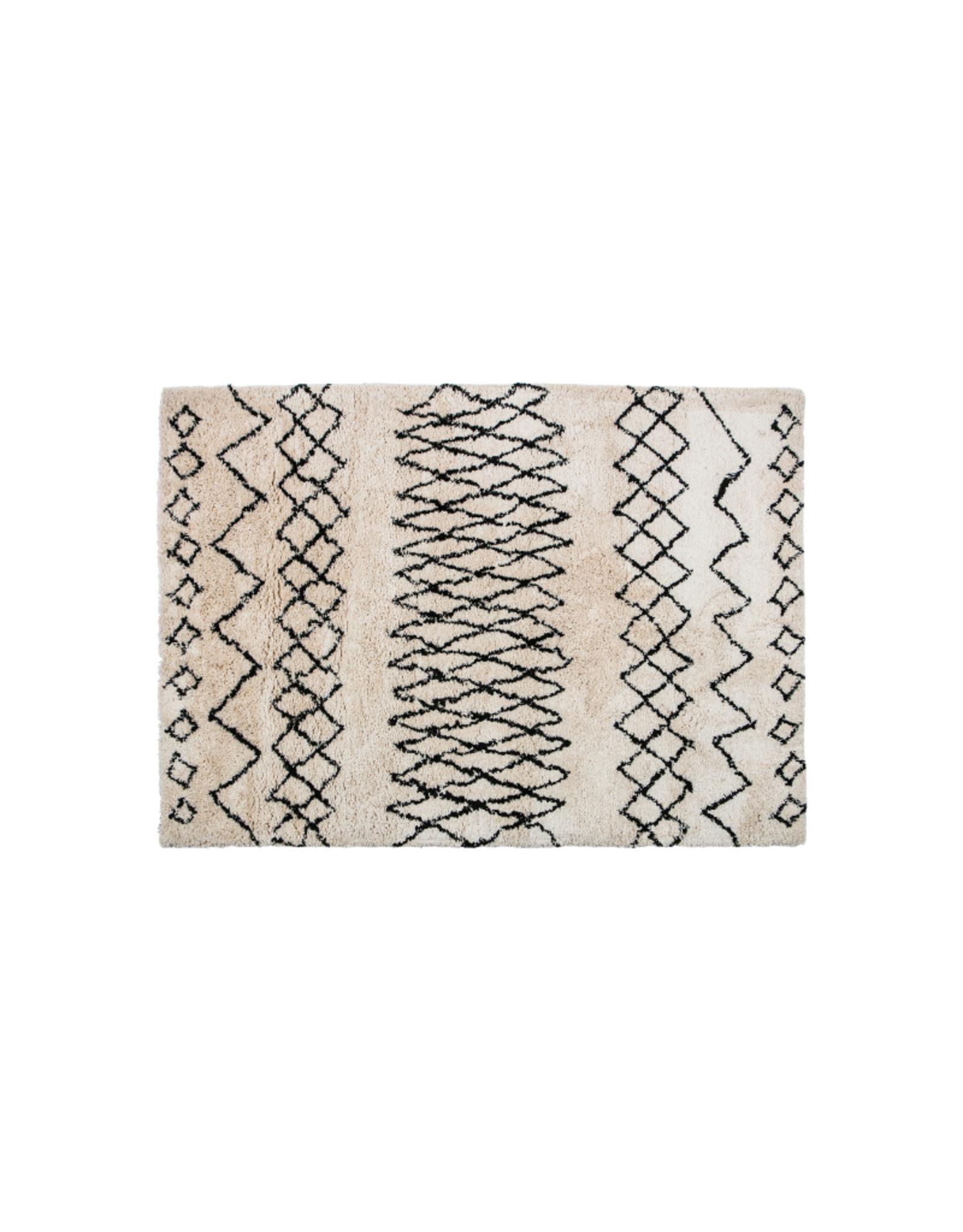 Vloerkleed 200 x 300 cm in Berberstijl