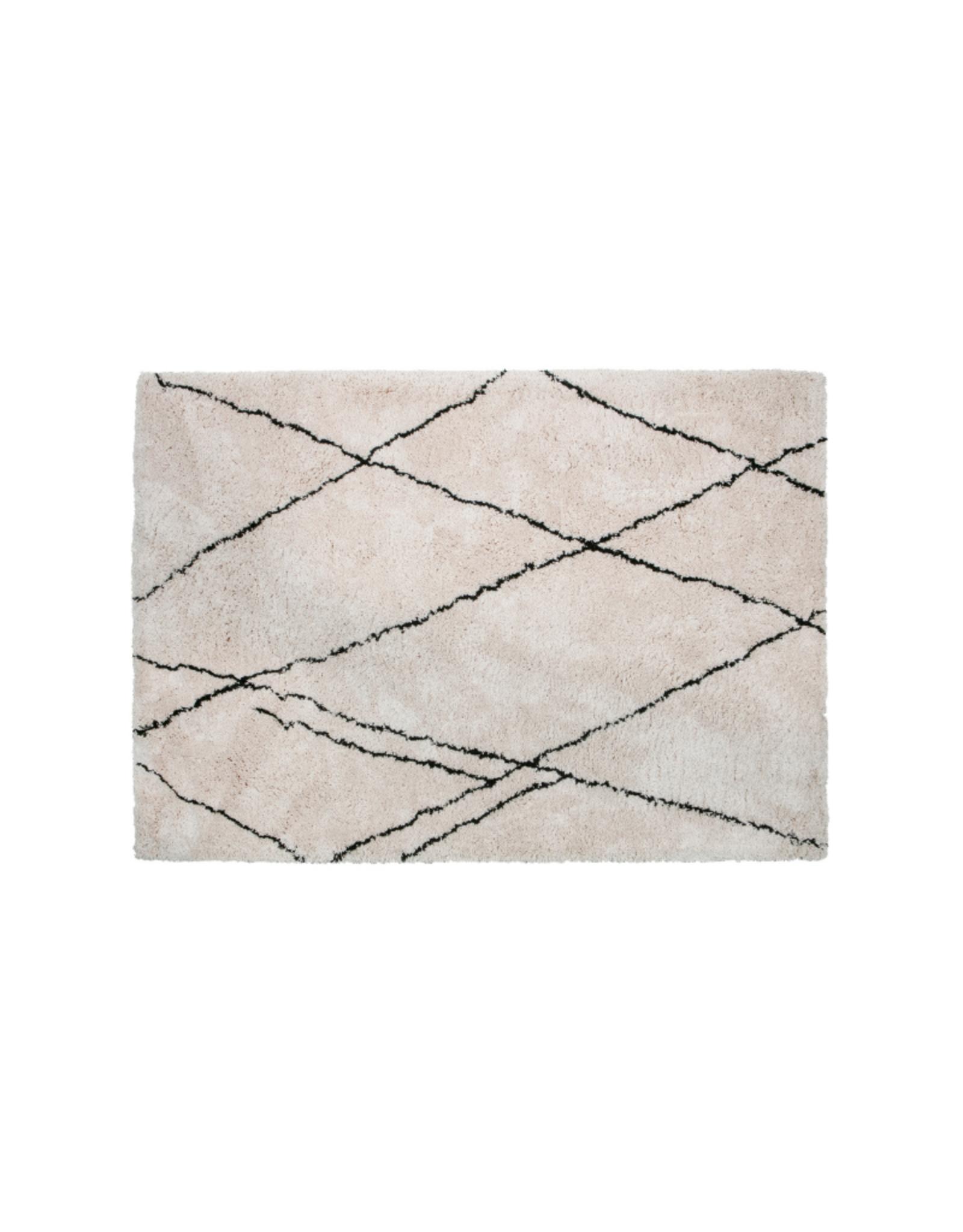 Vloerkleed Diamond 200 x 300 cm - Offwhite