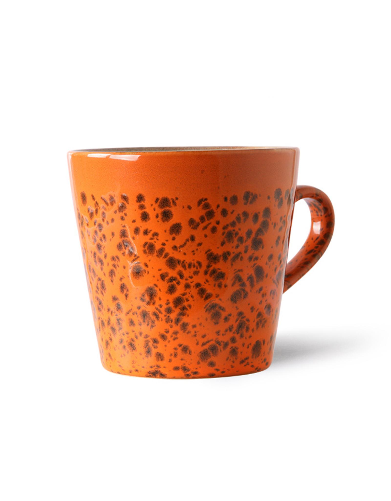 HK Living Copy of Americano mug 70s - Bark