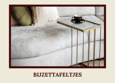 Bijzettafels/Salontafels