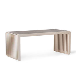 HK Living Slatted bench/element sand