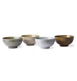 HK Living Set v 4 Japanese Noodle Bowls