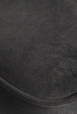 Barstoel vogue velvet - Zwart