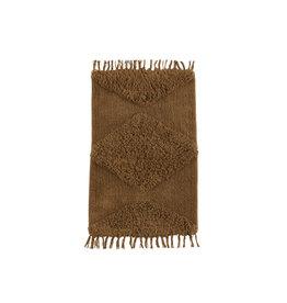 Madam Stoltz Badmat Tufted - Indian Tan 60 x 90 cm