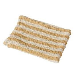 Quax Blanket/towel Stripes M - Saffran hydrofieldoek