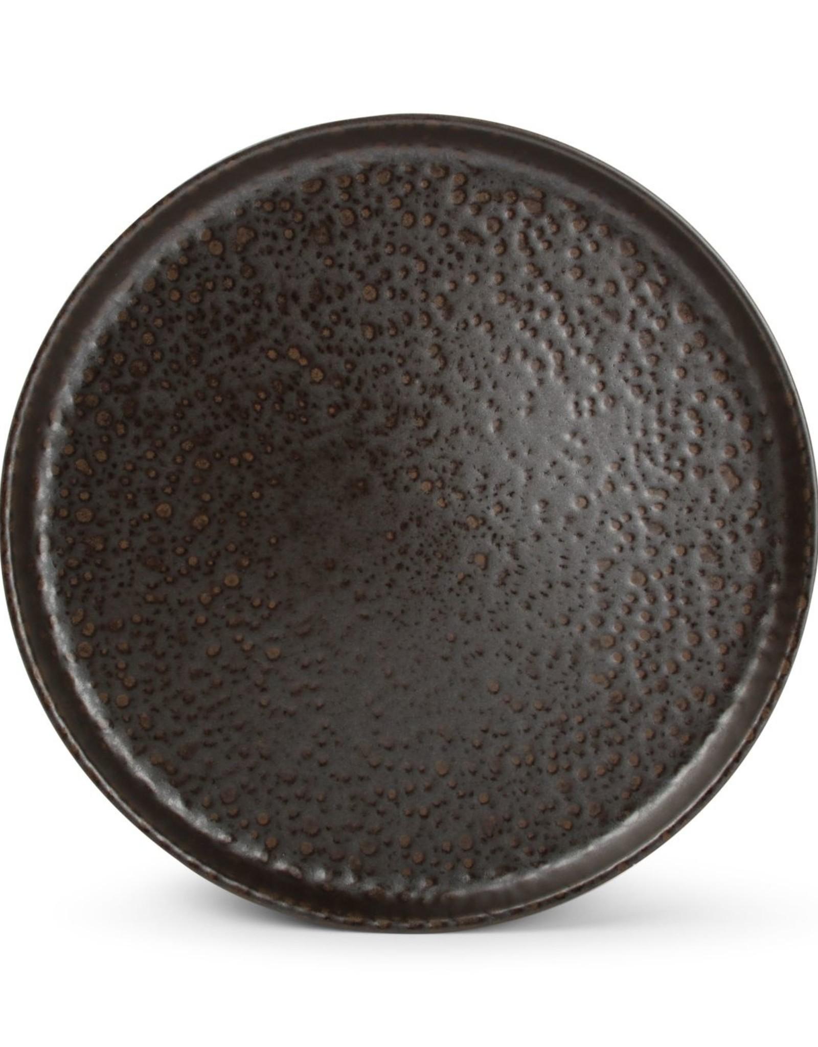 Plat bord 28xH3cm chocolate Tabo