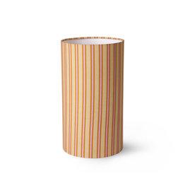 Lampenkap Cylinder stripes Ø22 cm