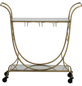 Decadent trolley metaal antique brass