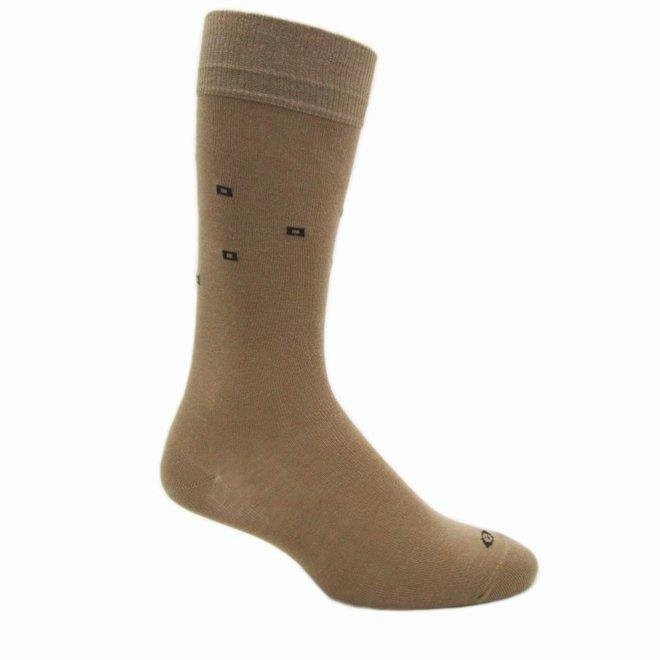Elite Classic beige sokken