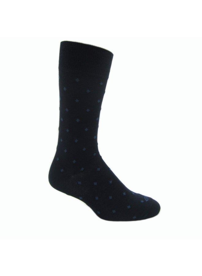Elite Classic blauw sokken