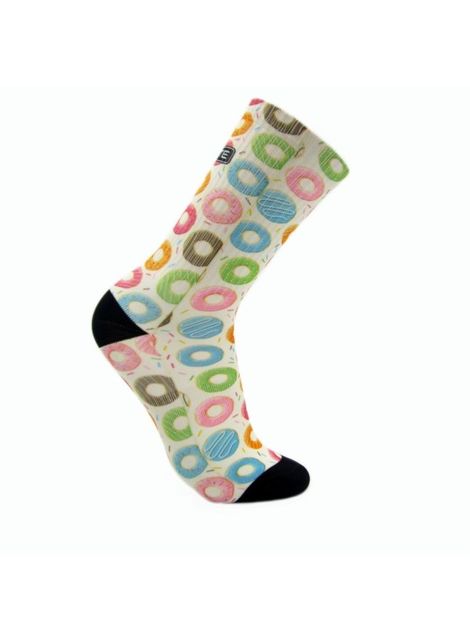 Elite Donut print urban sokken