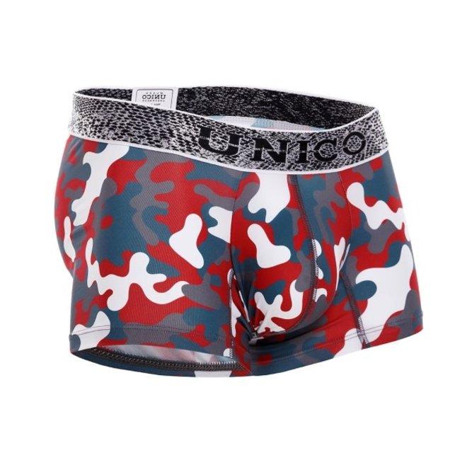 Mundo Unico Red camo boxershort