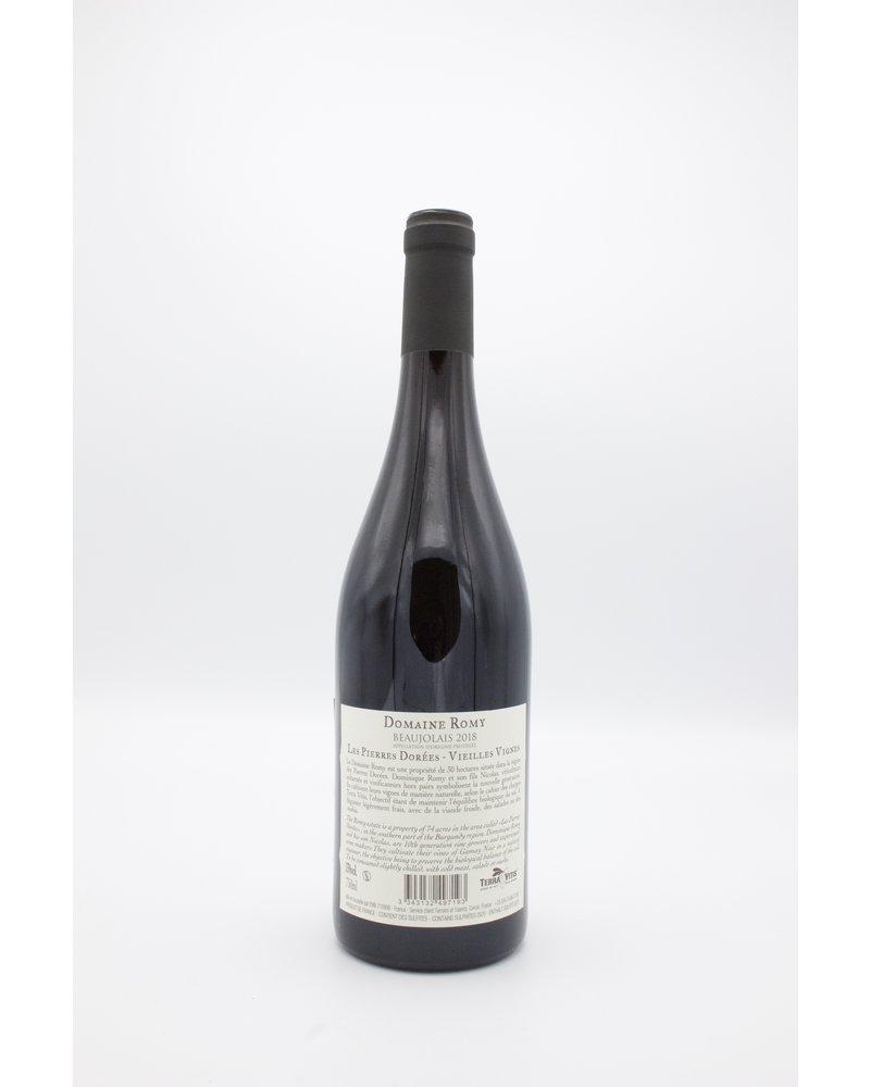 """Domaine Romy Beaujolais vieilles vignes """"Pierres Dorées"""" 2018"""