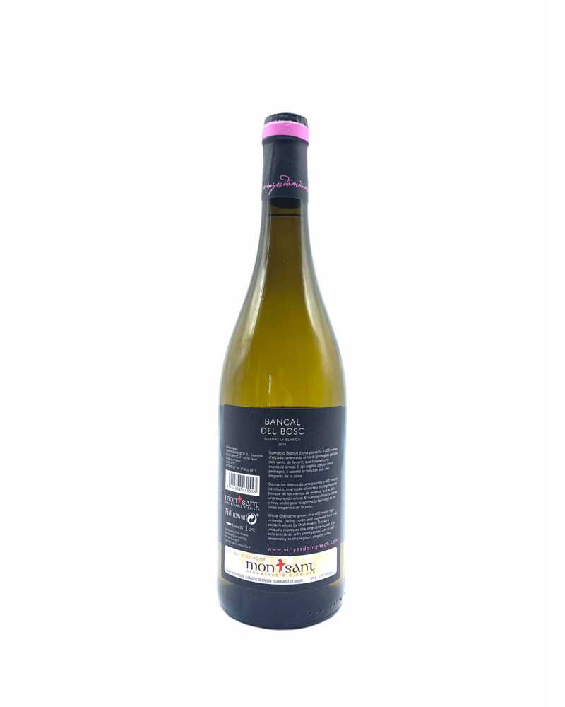 """Vinyes Domènech """"Bancal blanc"""" Montsant 2019"""