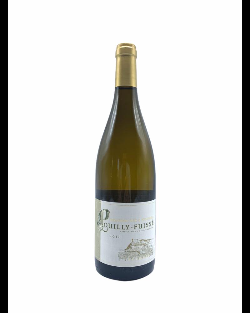Domaine des 3 Tilleuls Pouilly Fuissé 2018