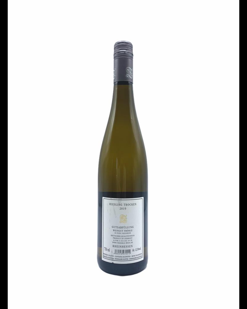 Weingut Thörle riesling trocken 2019