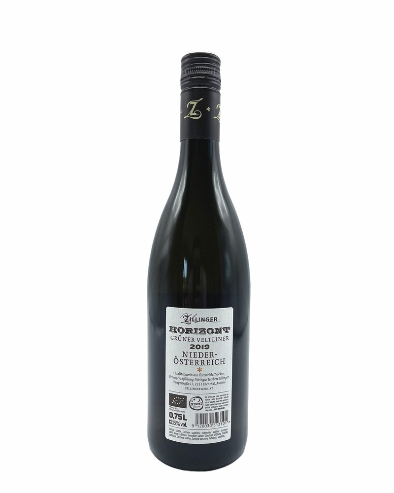 Bottle of the week #27 grüner veltliner Horizont H. Zillinger 2019 5+1