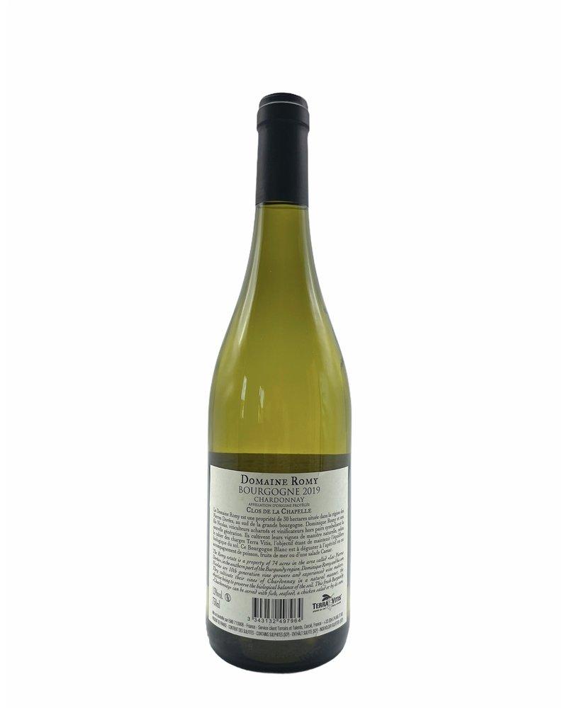 Domaine Romy Bourgogne chardonnay 2019