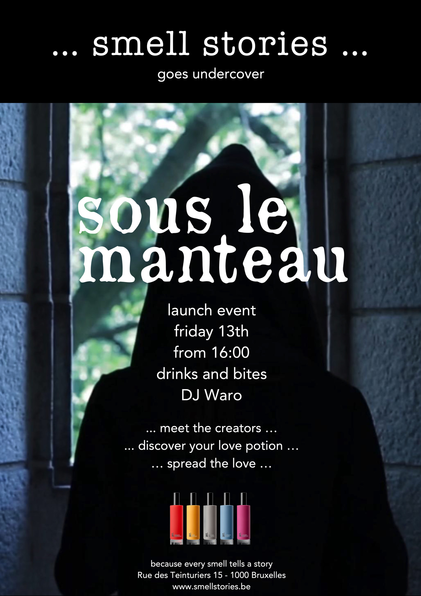 Sous le Manteau launch event