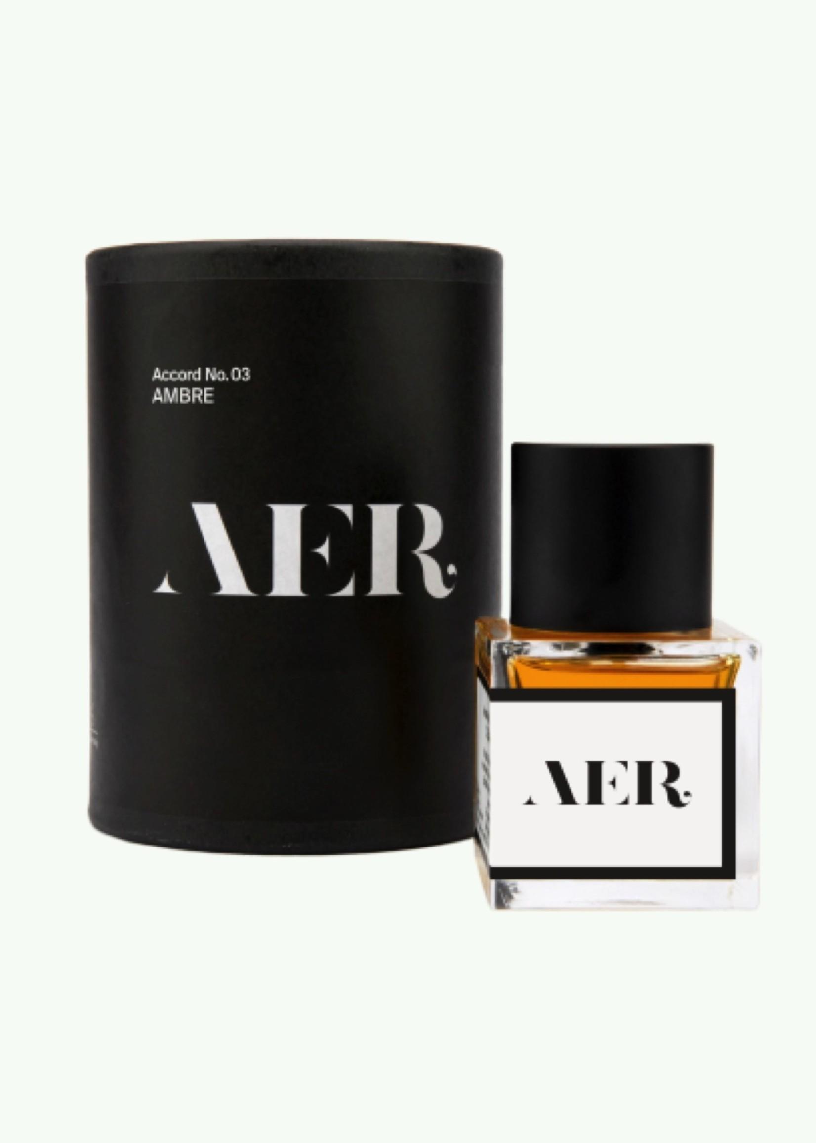 AER AER - Accord n° 3 : AMBRE - Parfum