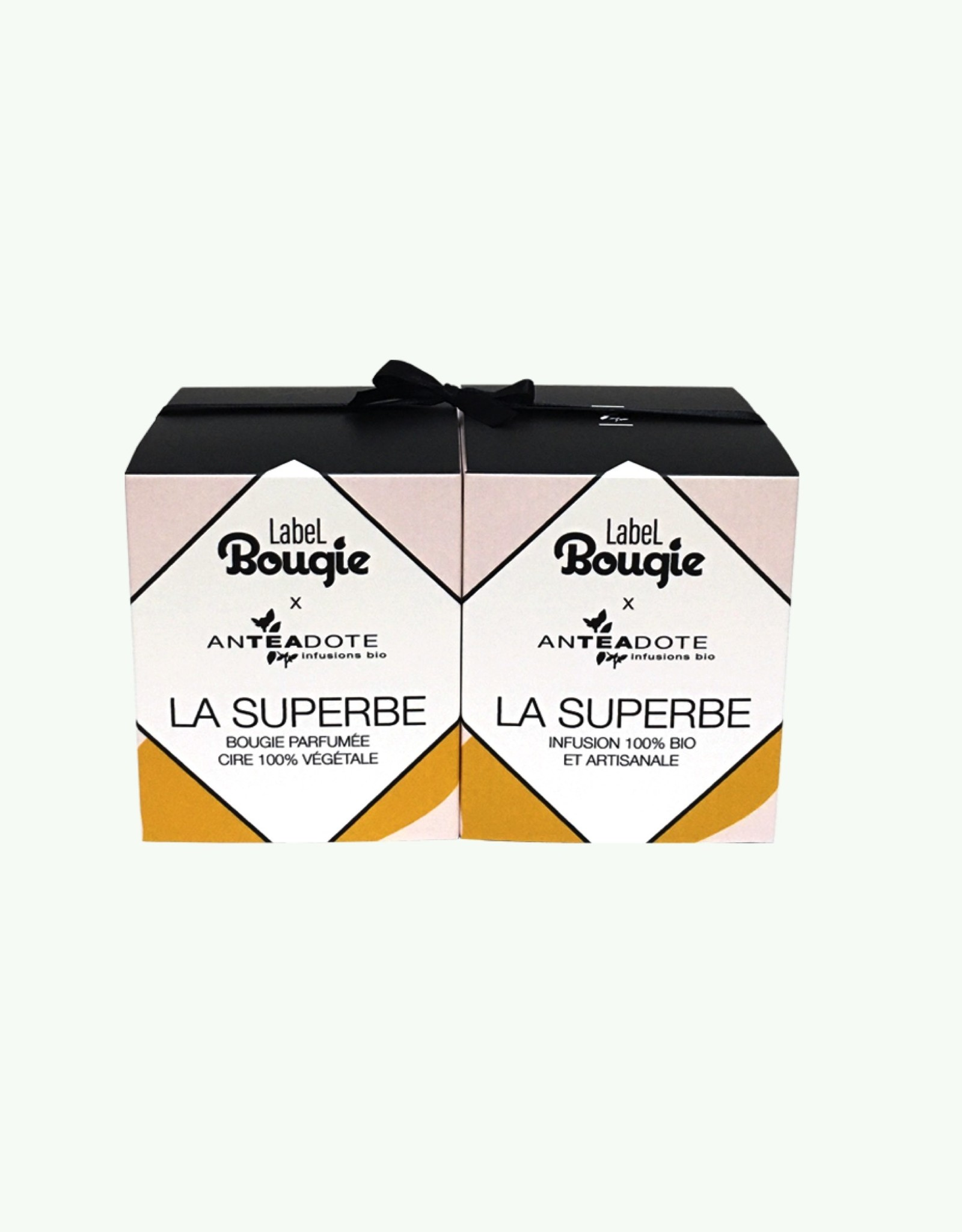 Label Bougie Label Bougie - La Superbe - Scented Candle 180 gr and Green Tea Infusion 80 gr
