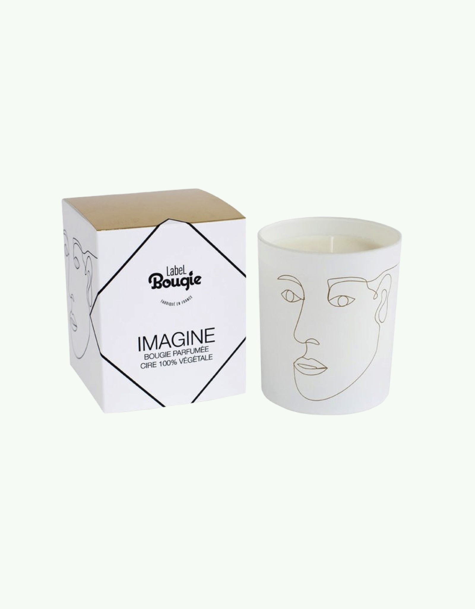 Label Bougie Label Bougie - Imagine - Candle