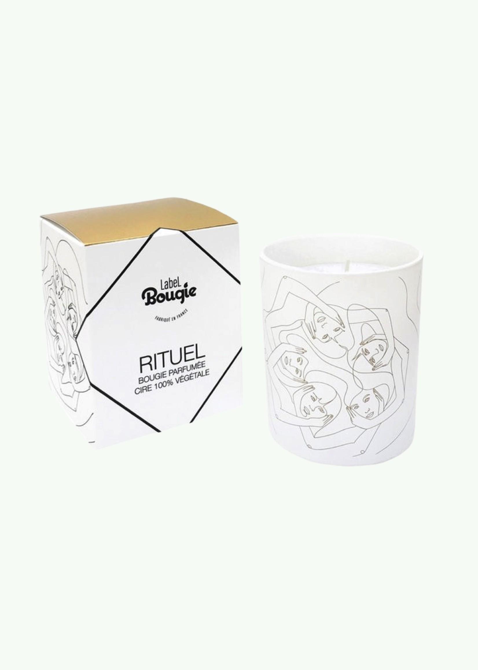 Label Bougie Label Bougie - Rituel - Bougie parfumée 180 gr