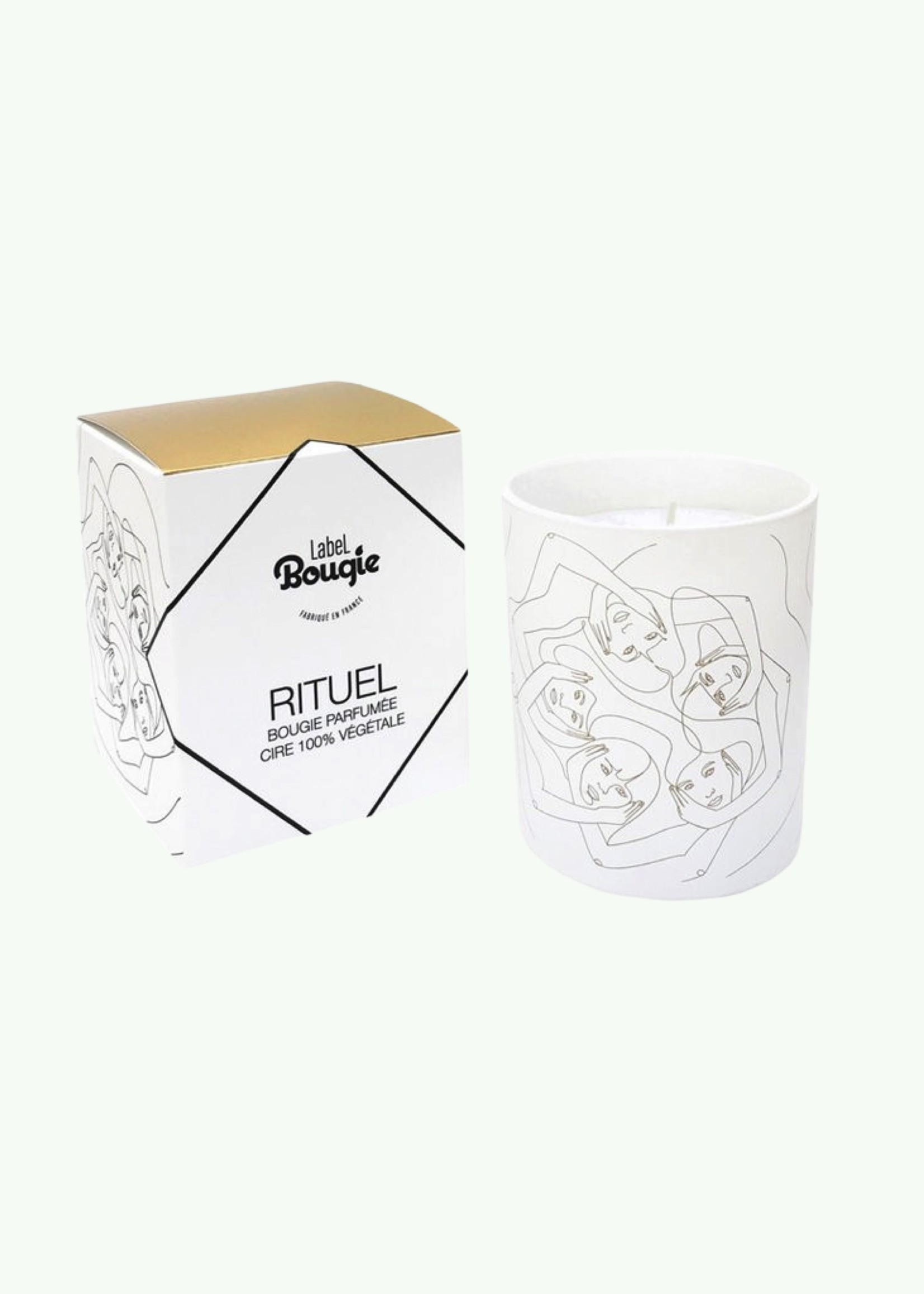 Label Bougie Label Bougie - Rituel - Scented Candle 180 gr