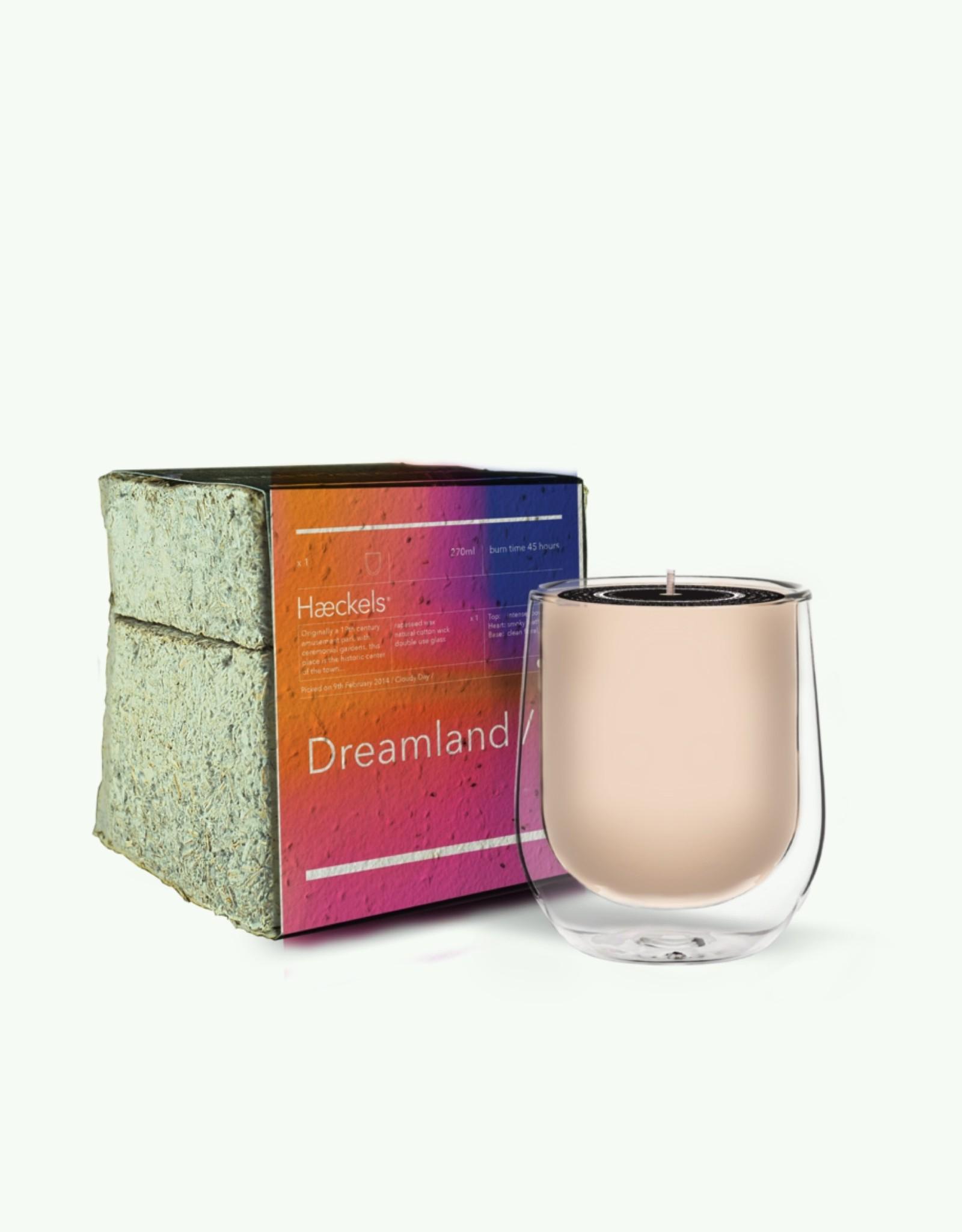 """Haeckels Haeckels - Dreamland GPS 23' 5""""N - Bougie Parfumée mycelium"""