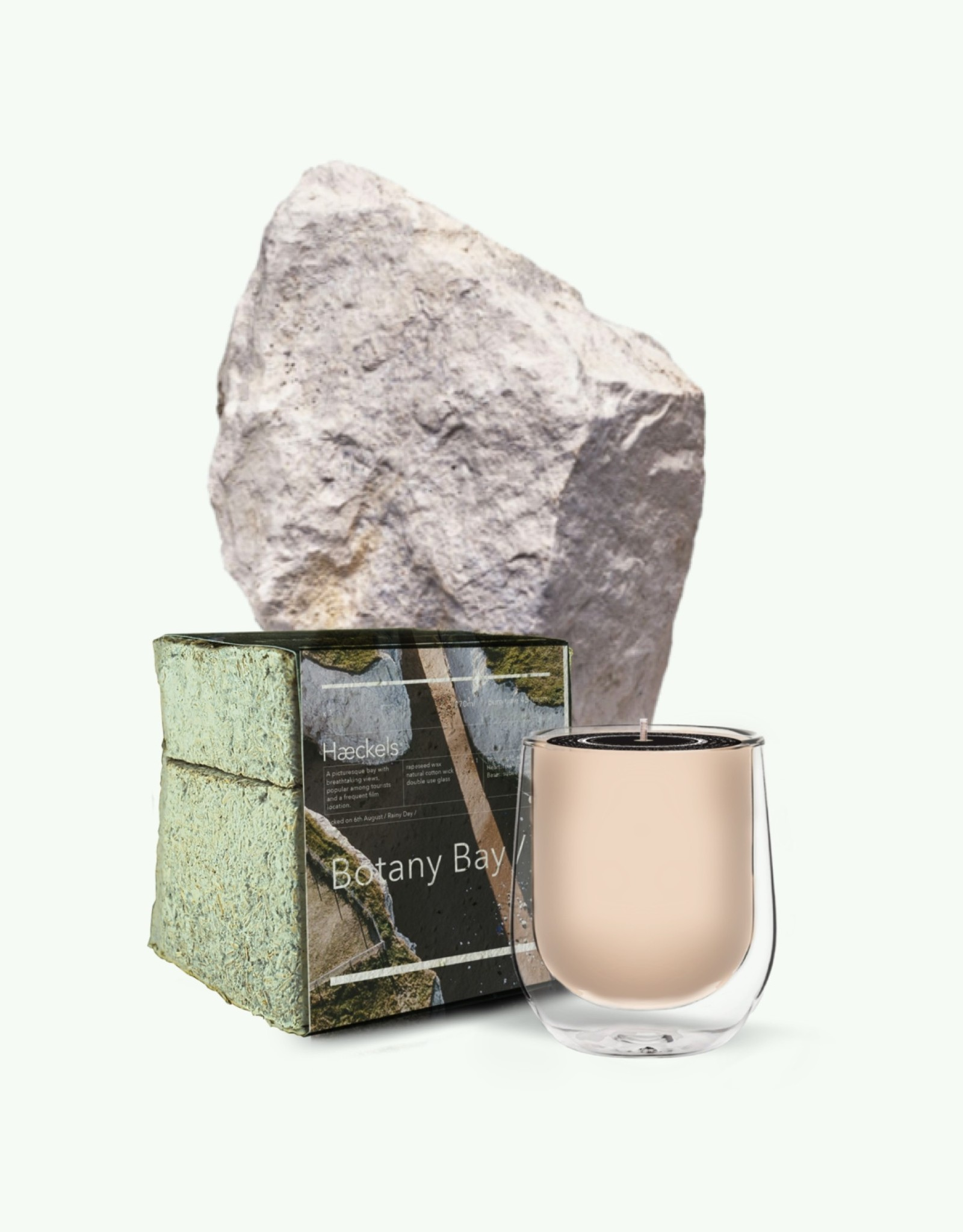 "Haeckels Haeckels - Botany Bay GPS 26' 3""E - Bougie parfumée mycelium"