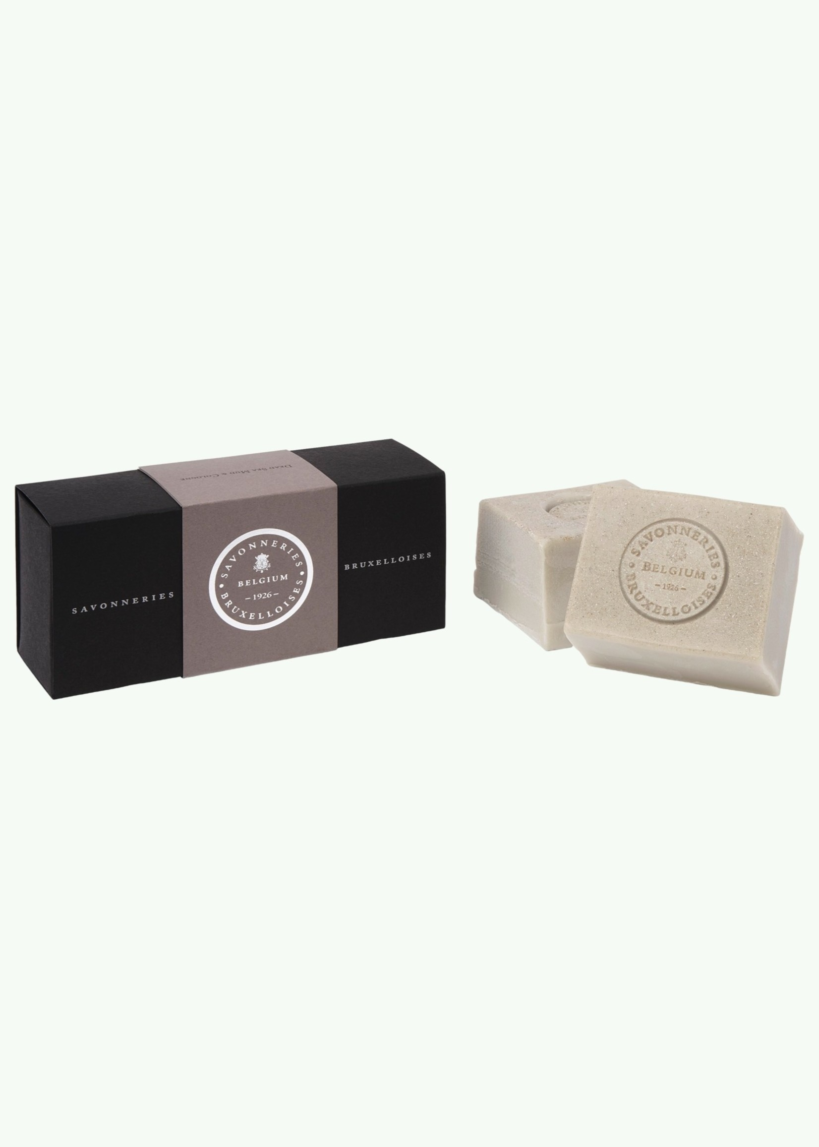 Savonneries Bruxelloises Savonneries Bruxelloises - Dead Sea Mud - Glycerine soap - 2 x 200 gr