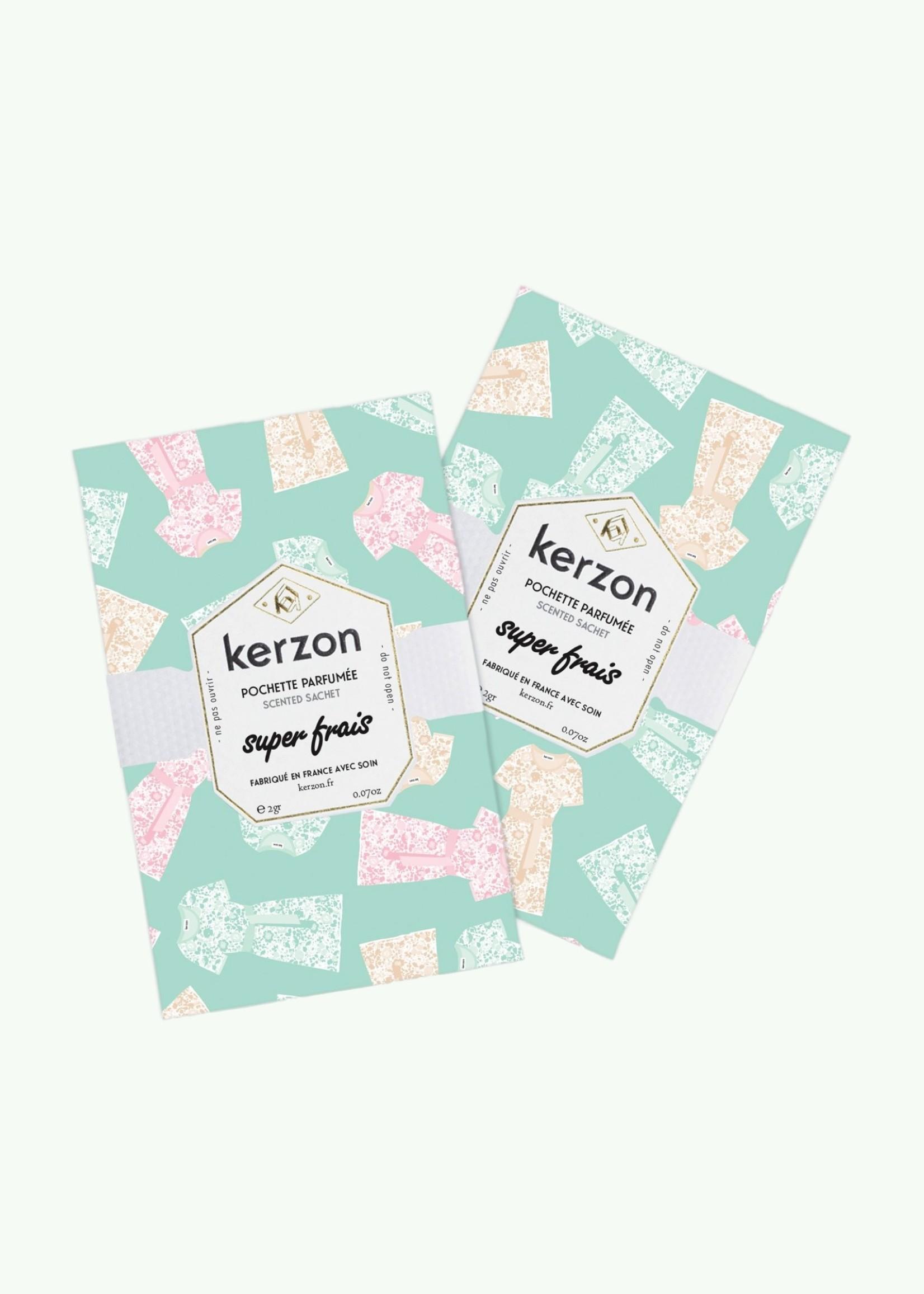 Kerzon Kerzon - Super Frais - Geparfumeerde zakjes