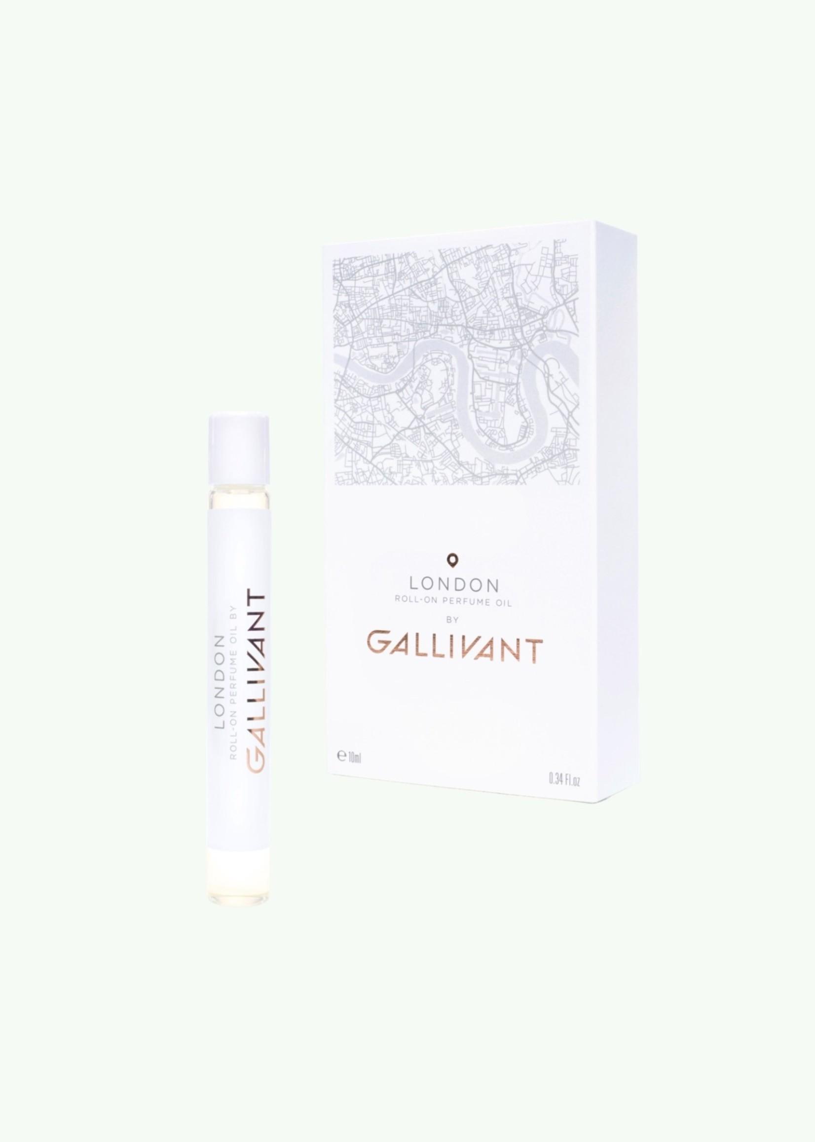 Gallivant Gallivant - London - Roll On Perfume Oil 10 ml