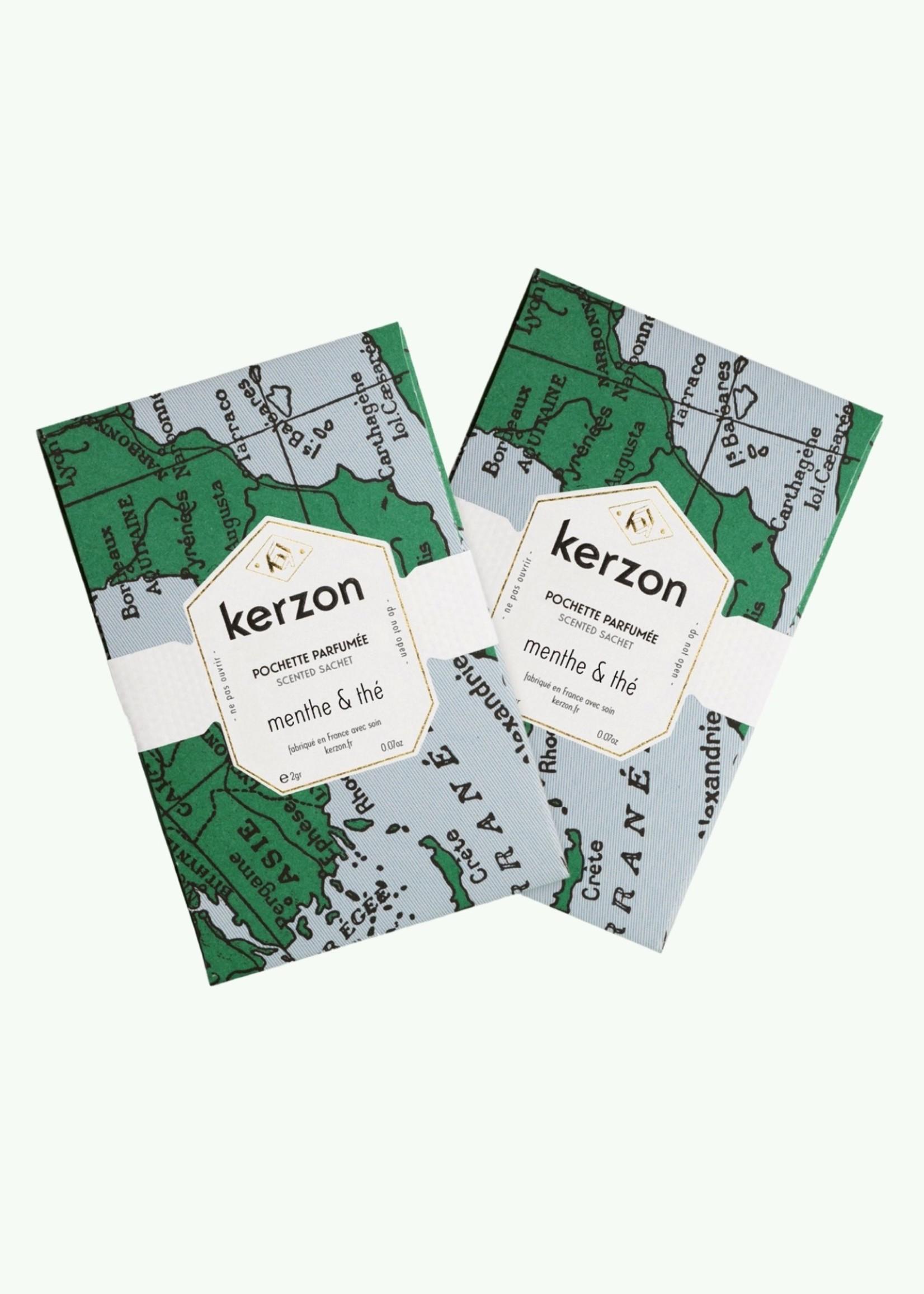 Kerzon Kerzon - Menthe & Thé - Set of 2 Scented Sachets