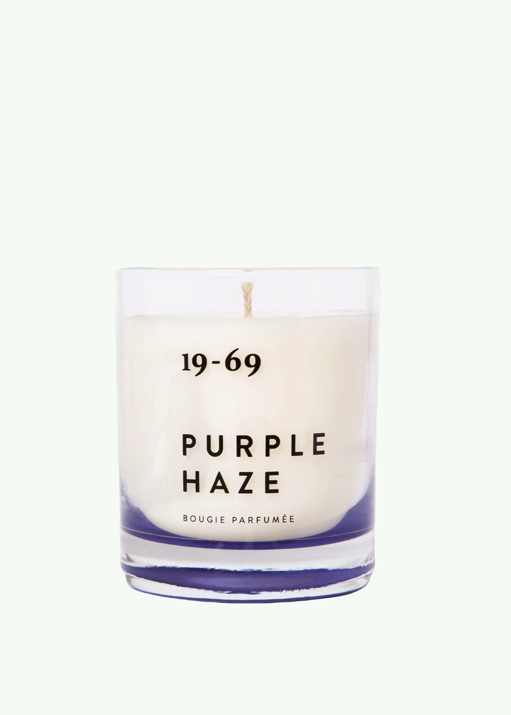 Nineteen Sixty Nine Nineteen sixty nine - Purple Haze - Geurkaars. 200 ml