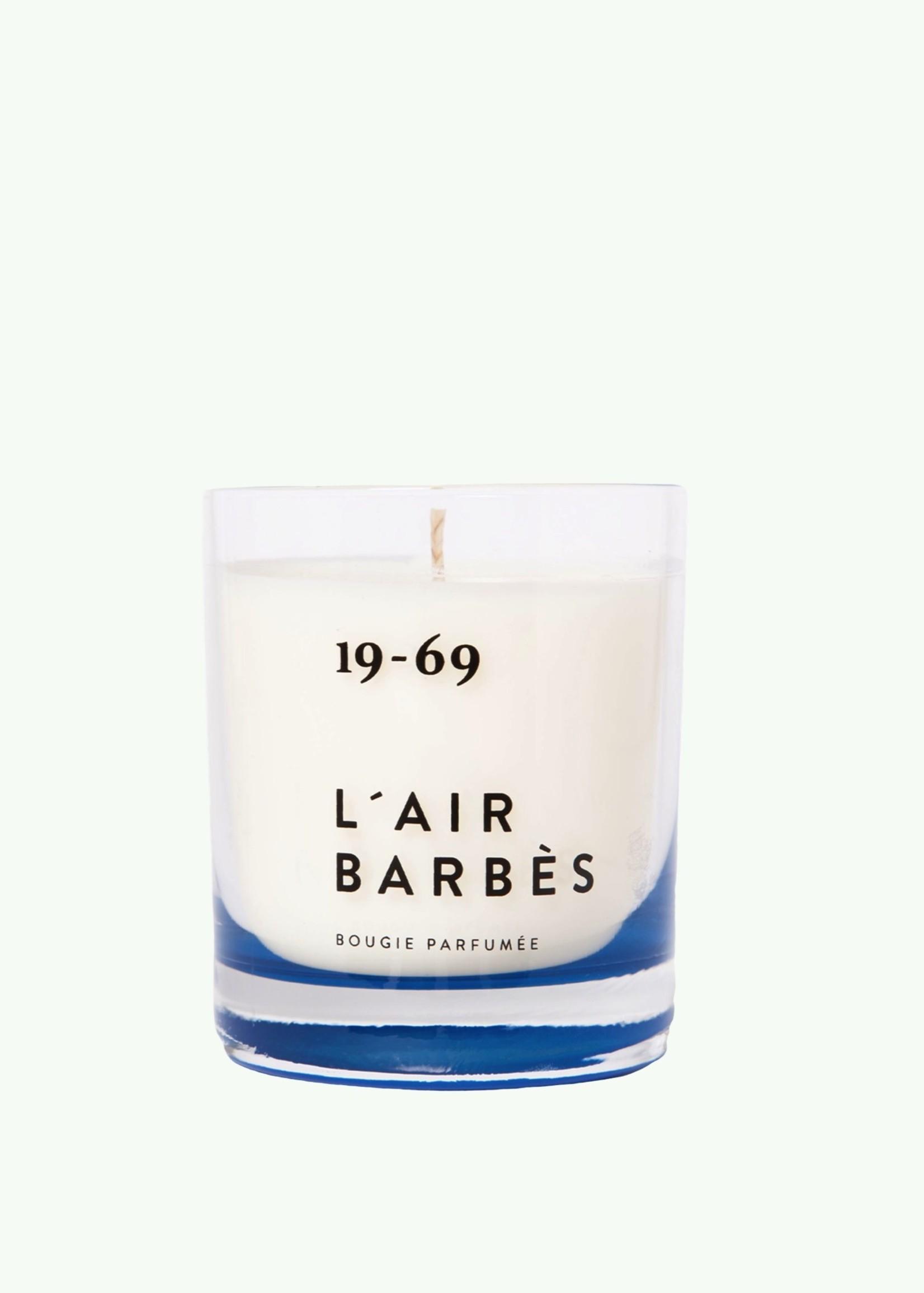 Nineteen Sixty Nine Nineteen sixty nine - L'air Barbès - Geurkaars 200 ml