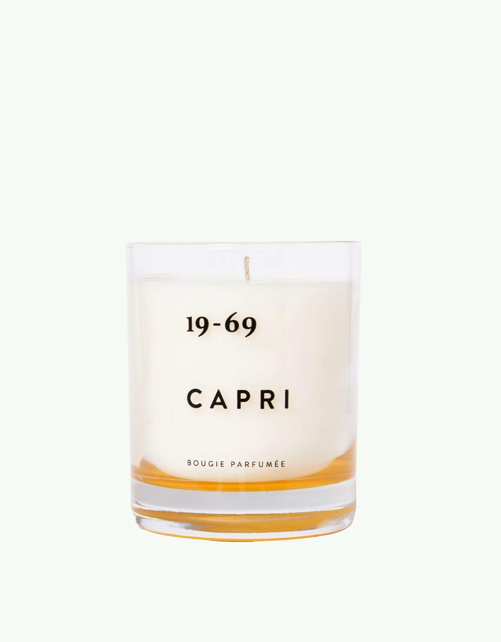 Nineteen Sixty Nine Nineteen sixty nine - Capri - Geurkaars 200 ml